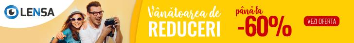 Lensa.ro: Vanatoarea de reduceri - pana la 60% reducere