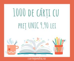Cartepedia - 1000 de carti cu pret unic 9,90 lei
