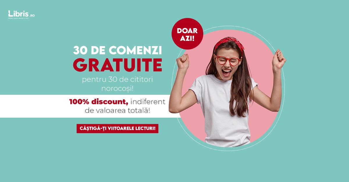 libris - 30 comenzi gratuite. 100% discount