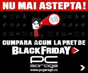 PCGarage::Cumpara ACUM la pret de Black Friday