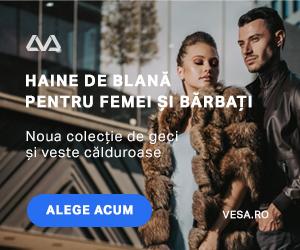 Vesa - Noua colectie de haine de blana, veste de blana si geci de piele A&A Vesa