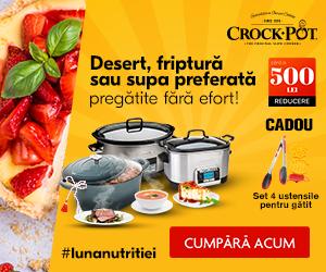 Crockpot-romania - Desert, friptura sau supa preferata fara efort cu Crock-Pot!