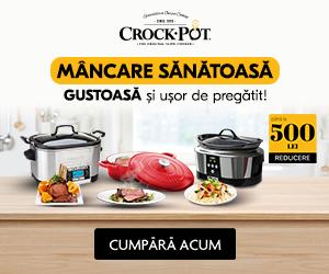 Crockpot-romania - Mancare sanatoasa, gustoasa si usor de pregatit!
