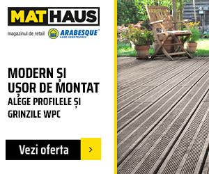 MatHaus - Campanie profile WPC – lemn compozit