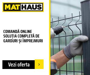 MatHaus - Garduri si imprejmuiri – Comanda online
