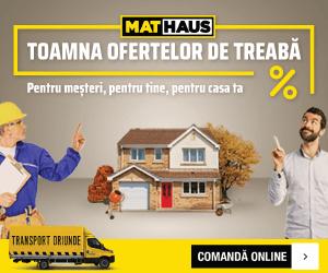 MatHaus - Campanie Toamna Ofertelor de Treabă – 03-07.10.2021