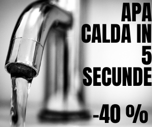 Mobilab - -20 % Robinet Electric – Apa Calda in 5 secunde