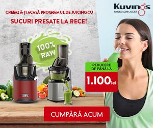 Kuvings-romania - Creeaza-ti acasa programul de juicing!