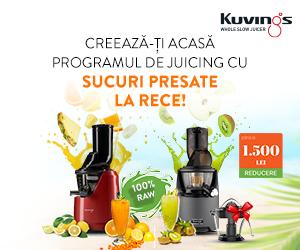 Kuvings-romania - Creeaza-ti acasa programul de juicing cu sucuri presate la rece!