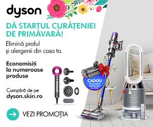 Dyson - Da startul curateniei de primavara!