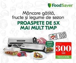 Foodsaver-romania - Mancare gatita, fructe si legume de sezon proaspete de 5x mai mult timp!