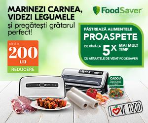 Foodsaver-romania - Marinezi carnea si videzi legumele cu FoodSaver!