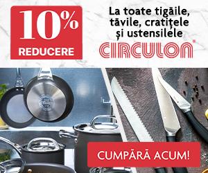 Circulon - Descopera vasele de gatit Circulon cu 10% reducere!