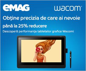 eMAG - Tablete grafice Wacom 17 – 24 mai