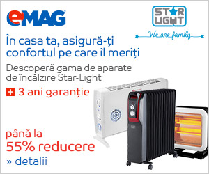 eMag.ro::Aparate de incalzire Star-Light - 3 ani garantie si pana la 55% reducere