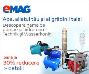 🏷 Pana la 30% discount la pompe de apa si Hidrofoare Technik si Wasserkonig