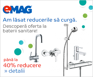 -40% reducere la bateriile sanitare De la Emag