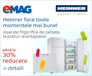 🏷 Aparate frigorifice Heinner 👍
