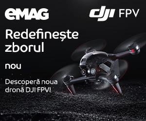eMAG - Lansare Drona DJI FPV – nou