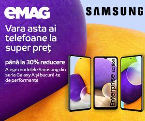 eMAG - Campanie Samsung Seria A