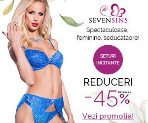 SevenSins - Ai reduceri de pana la 45% la seturi sexy!