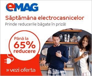 eMag.ro::Saptamana electrocasnicelor - august 2016