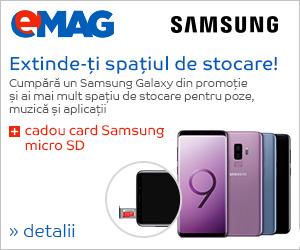 microSD cadou la Samsung