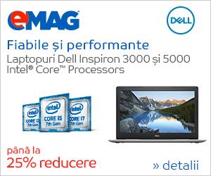 🏷 pana la 25% reduceri – Laptopuri Dell Inspiron 3000 si 5000 👍