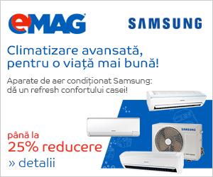 🏷 Pana la 25% reducere Aparate de aer conditionat Samsung 👍