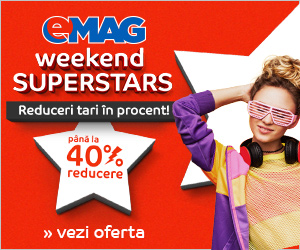 👍 pana la 40% reducere Week-end Superstars – Emag 🏷 🏷 🏷
