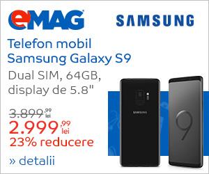 Samsung S9 in Samsung blue Week