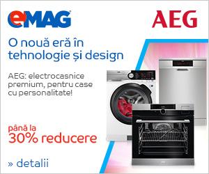 Electrocasnice mari AEG – pana la 30% reducere