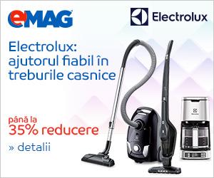 Electrocasnice mici Electrolux – pana la 35% reducere
