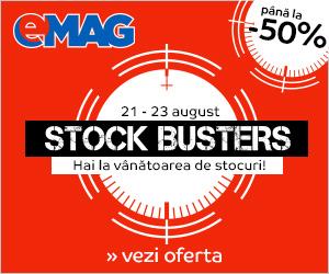 Stock Busters, mult așteptata mare vânătoare a prețurilor mici, revine!
