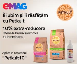 eMAG - Campanie Voucher PetKult, 19 – 28 februarie