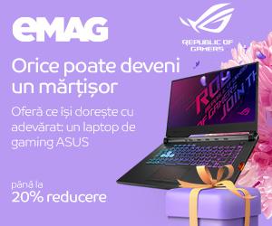 eMAG - Campanie Martisor -Laptopuri gaming ASUS