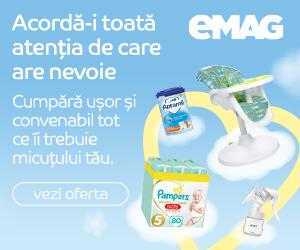 eMAG - Campanie Totul pentru copii,08 martie – 11 aprilie