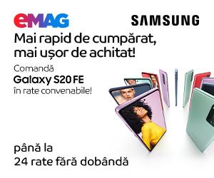 eMAG - Samsung Galaxy S20 FE, rate fara dobanda