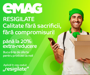 eMAG - Resigilate pana la 20% extra-reducere