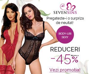 SevenSins - Reduceri de pana la 45% la body-uri!