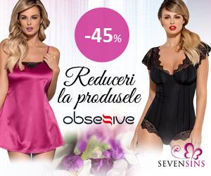 SevenSins - 45% reducere la produse marca Obsessive!