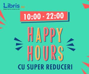 Happy Hours cu Super Reduceri la Carti, Jocuri, Muzica, Filme!
