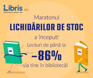 libris - Pana la -86%!  Nu rata Lichidarile de stoc la Humanitas, Litera, Polirom, Trei!