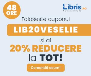 libris - Cupon 20% REDUCERE la TOT! Motive infinite de veselie!