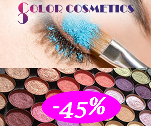 Colorcosmetics - Reduceri de 45% la farduri