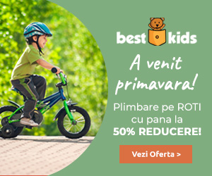 BestKids - Plimbare pe Roti cu pana la 50% REDUCERE!