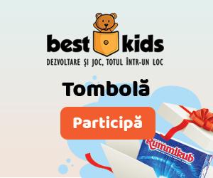 BestKids - Tombola BestKids implineste 14 ani! Comanda acum si fii castigator!