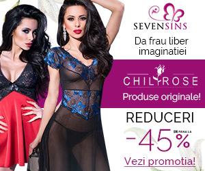 SevenSins - Reduceri de pana la 40% la produsele Chilirose!