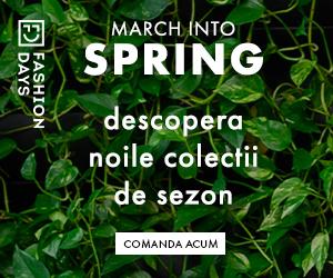 - March into spring – descopera noile colectii de sezon pentru femei