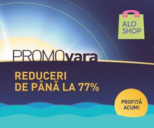 🏷 PROMOvara vine cu reduceri de până la 77%! 👍